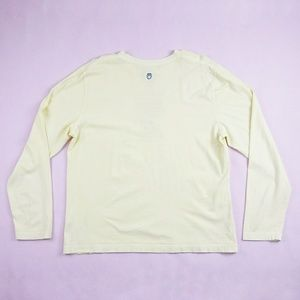 Life Is Good Tops - Life is Good Coffee Cup Yellow Long Sleeve Top L